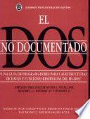 El DOS no documentado
