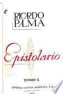 El epistolario de Palma, 1862-1918