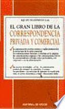 El gran libro de la correspondencia privada y comercial