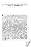 El hombre de Junín frente a su paisaje i a su folklore