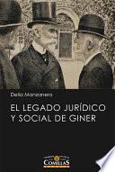El legado jurídico y social de Giner