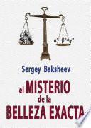 EL MISTERIO DE LA BELLEZA EXACTA