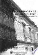 El periodismo en la historia del Perú
