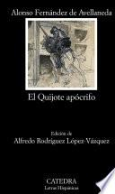 El Quijote apócrifo