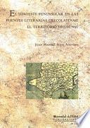 EL SUROESTE PENINSULAR EN LAS FUENTES LITERARIAS GRECOLATINAS: EL TERRITORIO ONUBENSE