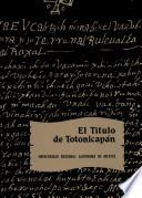 El Título de Totonicapán