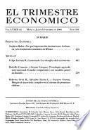 El Trimestre económico