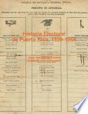 Elecciones en Puerto Rico, 1899-1964