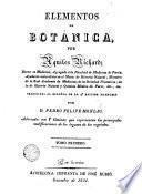 Elementos de botánica