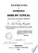 Elementos de geometría y dibujo lineal