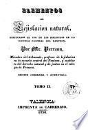Elementos de lejislacion natural