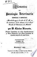 Elementos de patología veterinaria general y especial