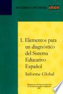 Elementos para un diagnóstico del sistema educativo español