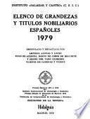 Elenco de grandezas y títulos nobiliarios españoles