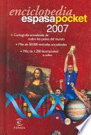 Enciclopedia Espasa Pocket 2007
