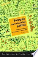 Enfoques para el análisis político