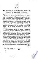 Ensayo historico-apologetico de la literatura española contra las opiniones preocupadas de algunos escritores modernos italianos: Literatura antigua