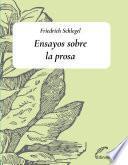 Ensayos sobre la prosa