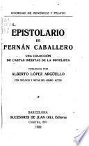 Epistolario de Fernán Caballero