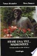 Erase una vez-- Maimónides