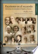 Escritores en el recuerdo