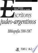 Escritores judeo-argentinos