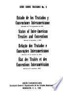 Estado de los tratados y convenciones interamericanos