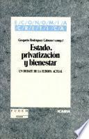 Estado, privatización y bienestar