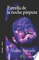Estrella de la noche púrpura