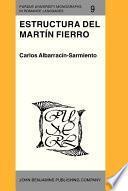 Estructura del Martín Fierro