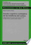 Estudio cognitivo-contrastivo de las metáforas del cuerpo