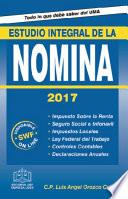 ESTUDIO INTEGRAL DE LA NOMINA 2017