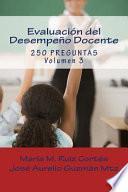 Evaluacin del Desempeo Docente/ Assessment of Teaching Performance