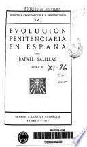 Evolución penitenciaria en España