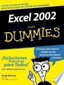 Excel 2002 Para Dummies