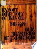 Export directory of Brazil