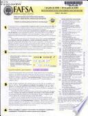 FAFSA, Ayudamos a educar a America, etc., de jullo de 1, 2003 - de junio de 30, 2004, (SPANISH).