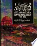 Familias alajuelenses en los libros parroquiales: Letras N-O-P-Q-R