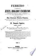 Febrero o librería de jueces abogados y escribanos...,2