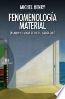 Fenomenología material