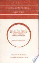 Ficción y no-ficción: la unidad literaria en la obra de Truman Capote