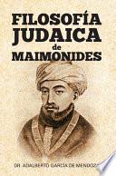 Filosofia Judaica de Maimonides