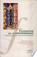 Filosofías de la universidad y conflicto de racionalidades