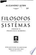Filósofos y sistemas
