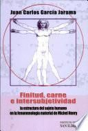 Finitud, carne e intersubjetividad