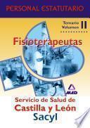 Fisioterapeutas del Servicio de Salud de Castilla y Leon