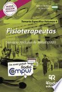 Fisioterapeutas. Servicio Andaluz de Salud (SAS). Temario Específico Volumen 4