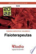 Fisioterapeutas. Temario Específico. Volumen 3. SAS