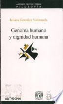 Genoma humano y dignidad humana