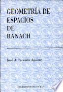 Geometría de espacios de Banach